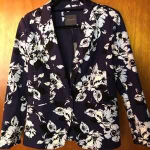 The Limited Floral Blazer
